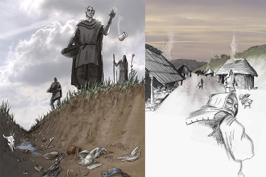 les sanctuaires Celtes