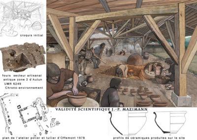 atelier potier et tuilier d'Offemont 1er-2e ap.J.- C.