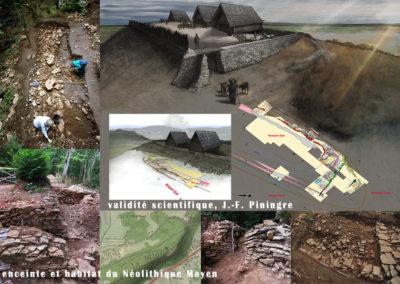 camp du Bramont  - Néolithique Moyen -