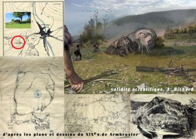campement mésolithique de la Grosse Roche